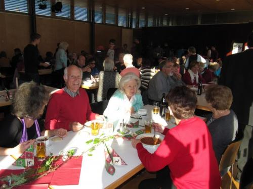 01.12.2013 Adventbasar - Familienmesse u. Suppentag
