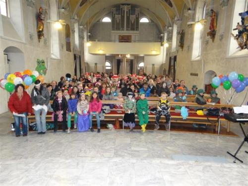 02.03.2014 Familienmesse am Faschingssonntag